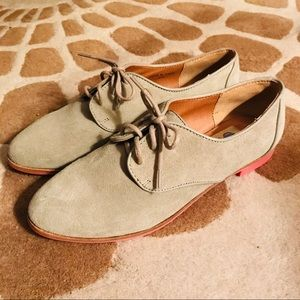 Dolce Vita Taupe Oxfords